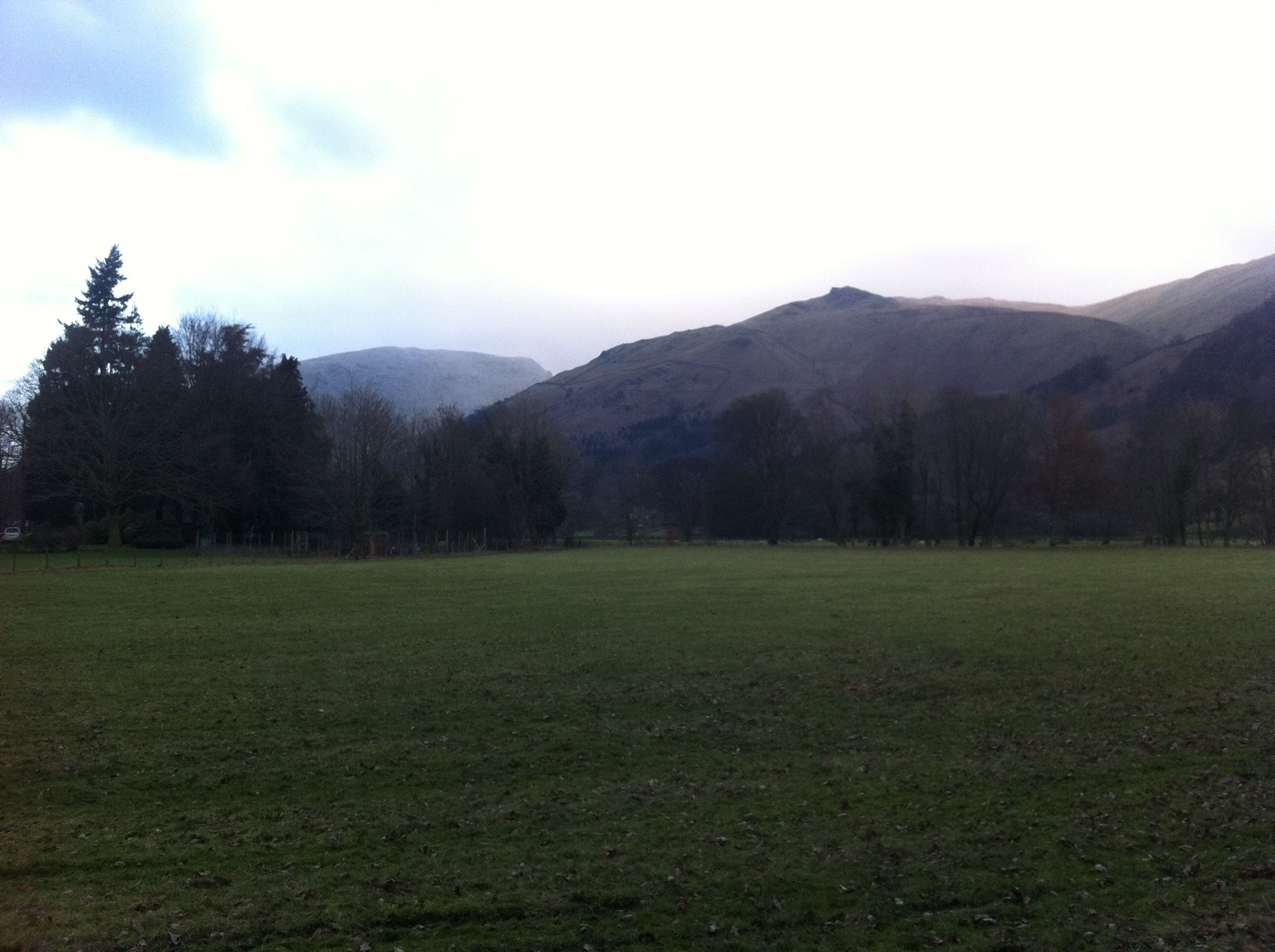 View from Grasmere car park