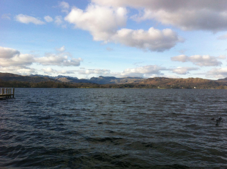 At the Lake shore