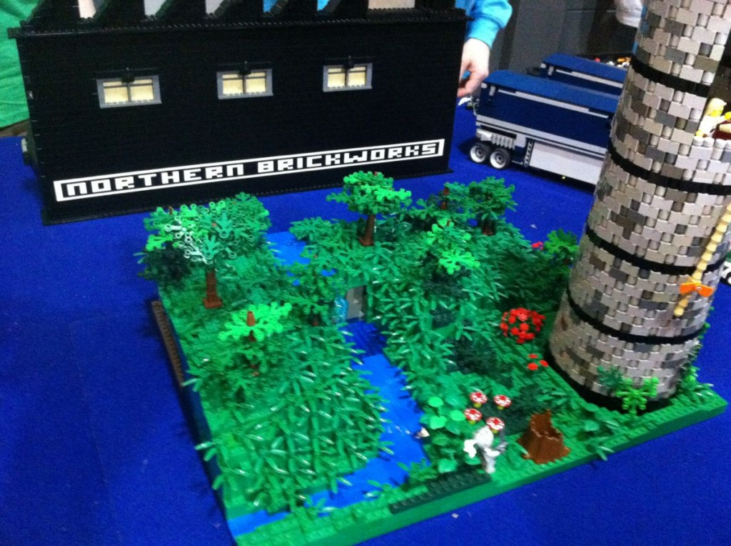 There was Lego on display at the Model show of course