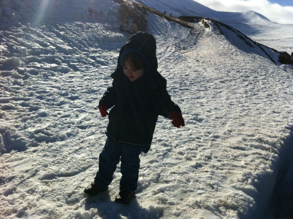 Ben on the Snow