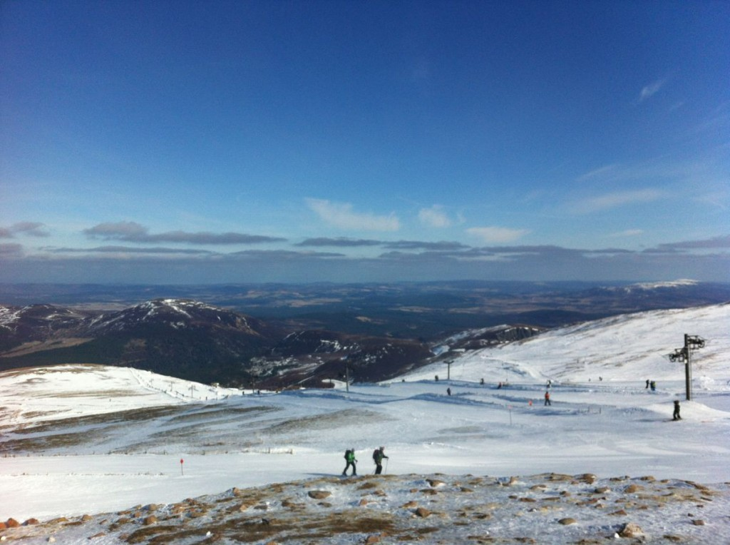 View from the top of Cairngorm